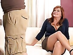 Plus-size Mummy Enjoys A Raunchy Fuck In Her Cock-squeezing Donk And Fleshy Puffy Snatch