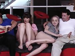 ally's daughter foot and sugar dad internal cumshot Cumming all ov