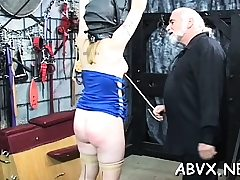 Flaming stripped smacking and extraordinary thraldom porn