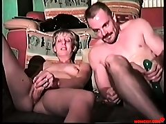 Daddy and daughter violate each others holes! Antique