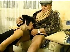 British brown-haired youthfull amateur blowjob