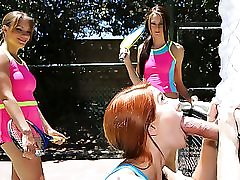 Summer Camp Tennis Cocksluts