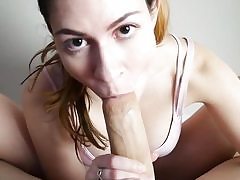 Feetjob point of view bj in front of webcam by a marvelous honey